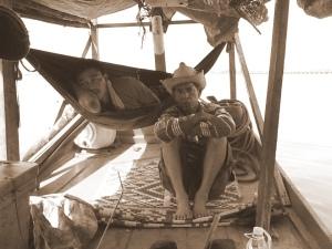 Captain Cambodia mangrove boat