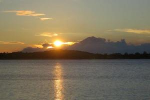Sunset Gili Air on Mt. Agung