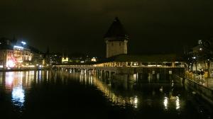The Chapel Bridge Lucerne